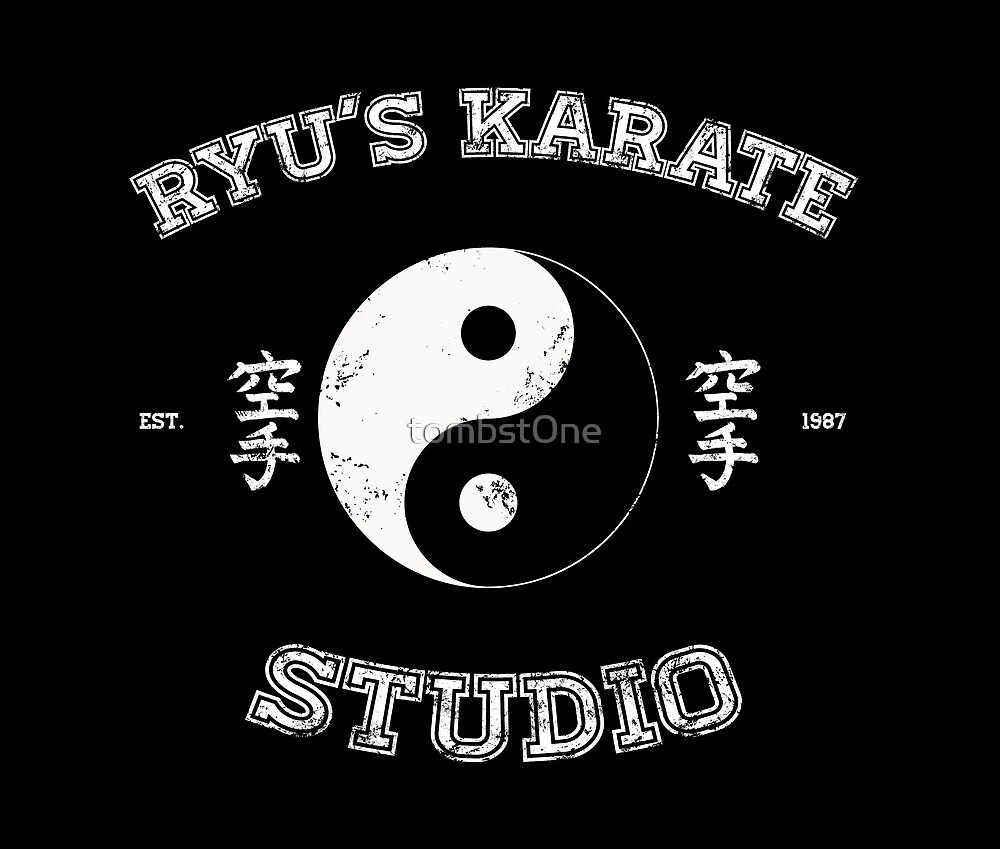 Ryu's Karate Studio - Black Version by tombst0ne