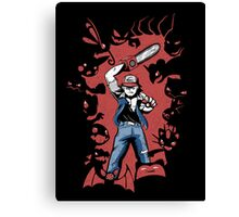Pokevil Dead - Gotta Kill 'Em All Canvas Print