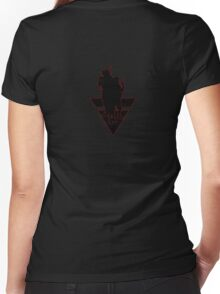 Anonymous 2012 T-shirt 4 Women's Fitted V-Neck T-Shirt