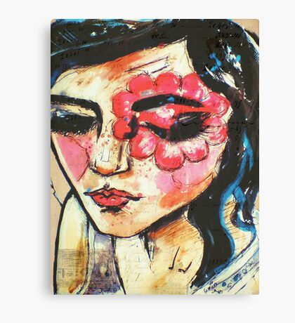 Facepaint Canvas Print