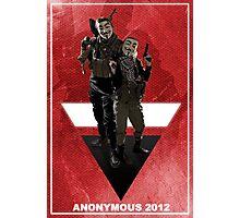 Anonymous 2012  Photographic Print