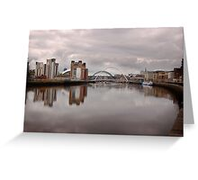 Newcastle-Gateshead Greeting Card