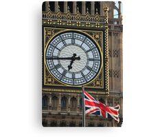 British Symbols Canvas Print