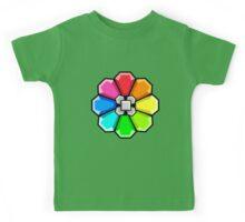 Rainbow Badge Kids Tee