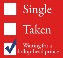 Waiting for a dollop-head prince by hlynn
