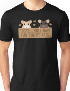 Today, I only have time for my RATS Unisex T-Shirt