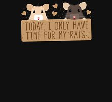Today, I only have time for my RATS Womens Fitted T-Shirt