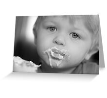 want some ice cream? Greeting Card