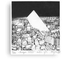 Europa 2033 Canvas Print
