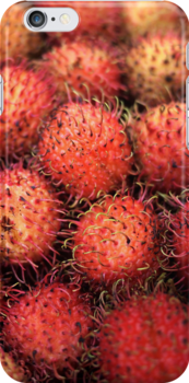 Rambutans from Saigon by mokeymoo