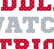 Let's Cuddle And Watch Patriots Football. Sticker