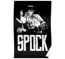 Spock The Line Poster
