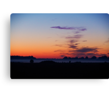 Morning is Just a Breath Away Canvas Print