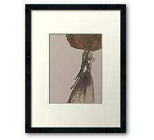 fashion illustration Framed Print