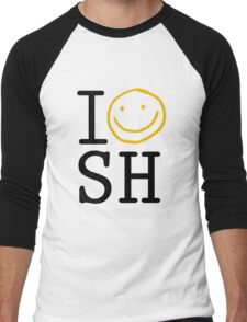 I LOVE SH Men's Baseball ¾ T-Shirt