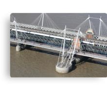 Golden Jubilee Bridge Canvas Print