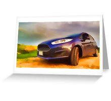 Ford Fiesta Greeting Card
