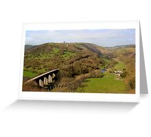 Monsal Dale Greeting Card