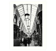 Royal Arcade Norwich Art Print