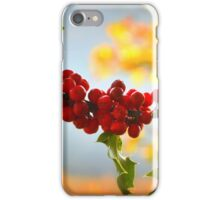 """ Holly Blue, Green & Gold "" iPhone Case/Skin"