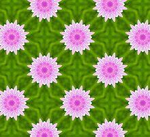 Pink Snowflakes by Vac1