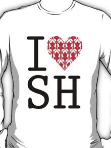 I LOVE SH (Red) T-Shirt
