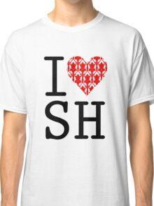 I LOVE SH (Red) Classic T-Shirt