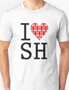 I LOVE SH (Red) Unisex T-Shirt