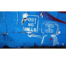 Don't Break the Robot's Heart Photographic Print