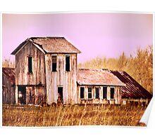 Beautiful old Ohio Barn  Poster
