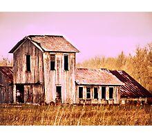 Beautiful old Ohio Barn  Photographic Print