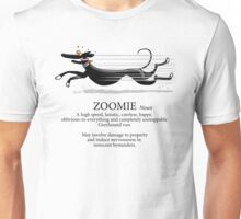 Greyhound Zoomie Unisex T-Shirt