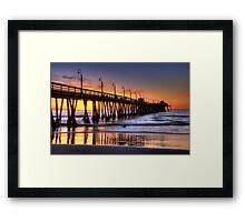Imperial Beach Pier Framed Print