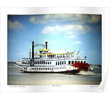 Creole Queen Steam Boat  Poster