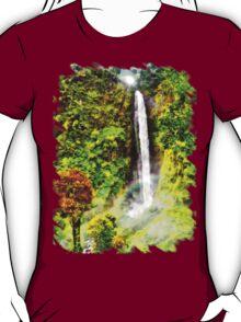 Waterfall - Digital Art Painting T-Shirt