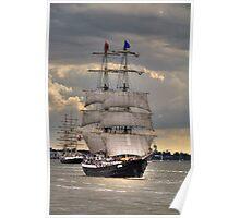 Tall Ships Race - Antwerp 2010 Poster