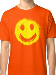 grunge smiley face Classic T-Shirt
