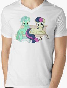 Lyra and Bon Bon Mens V-Neck T-Shirt