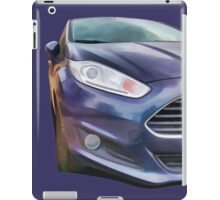 Ford Fiesta iPad Case/Skin