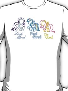 Rarity Rainbow Fluttershy T-Shirt