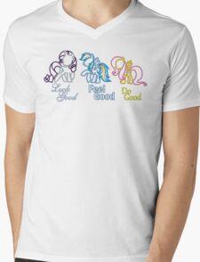 Rarity Rainbow Fluttershy Mens V-Neck T-Shirt