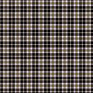 black plaid pattern design by nadil