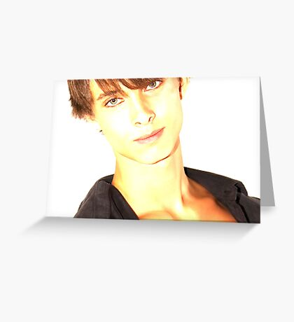 David - Lights Greeting Card