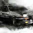 Toyota AE86 by hazelong