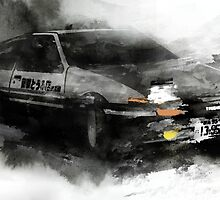 Toyota AE86 by hazelong