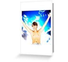 Sky Storm Greeting Card