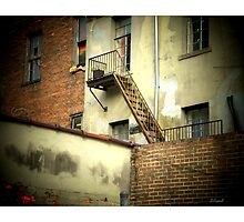 Fire Escape  by Sandra Russell