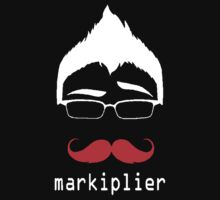 MARKIPLIER FACE Baby Tee