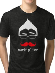 MARKIPLIER FACE Tri-blend T-Shirt