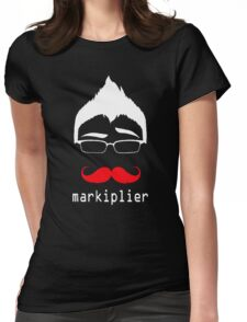 MARKIPLIER FACE Womens Fitted T-Shirt